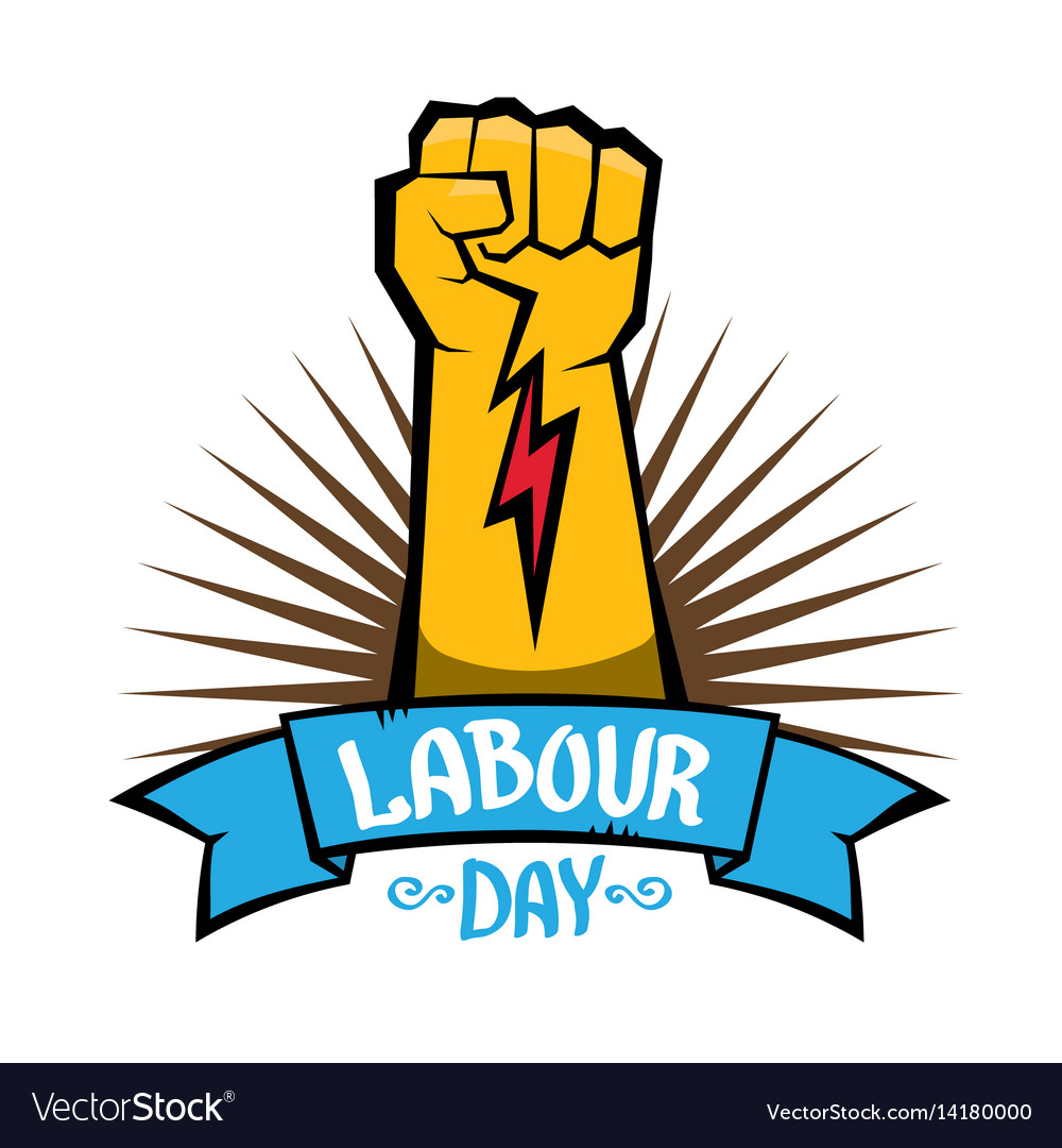 1 may labour day labour day poster royalty free vector rh vectorstock com vector post pounder vector holster