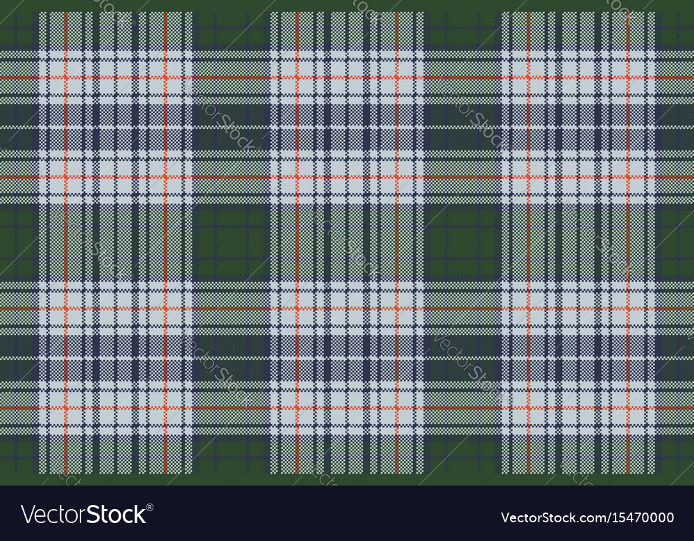 Check pixel plaid seamless texture vector image