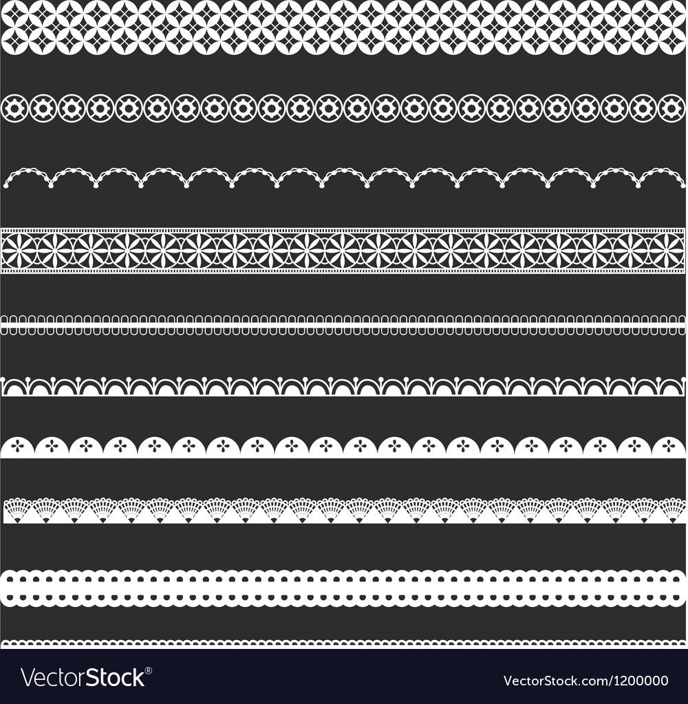 Decorative Lace Borders