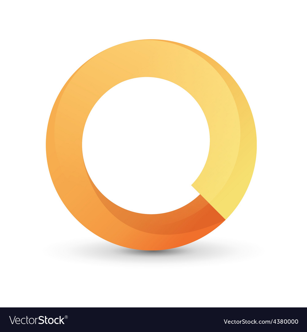 Orange tape round form