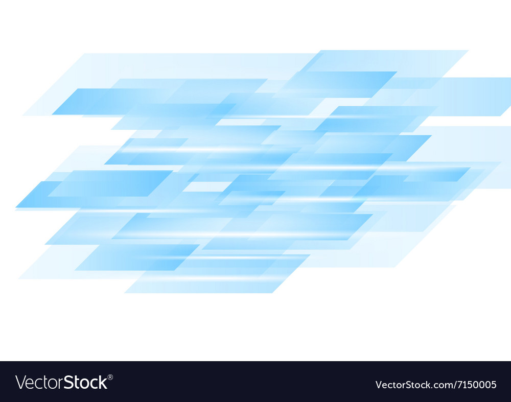 Blue abstract technology design