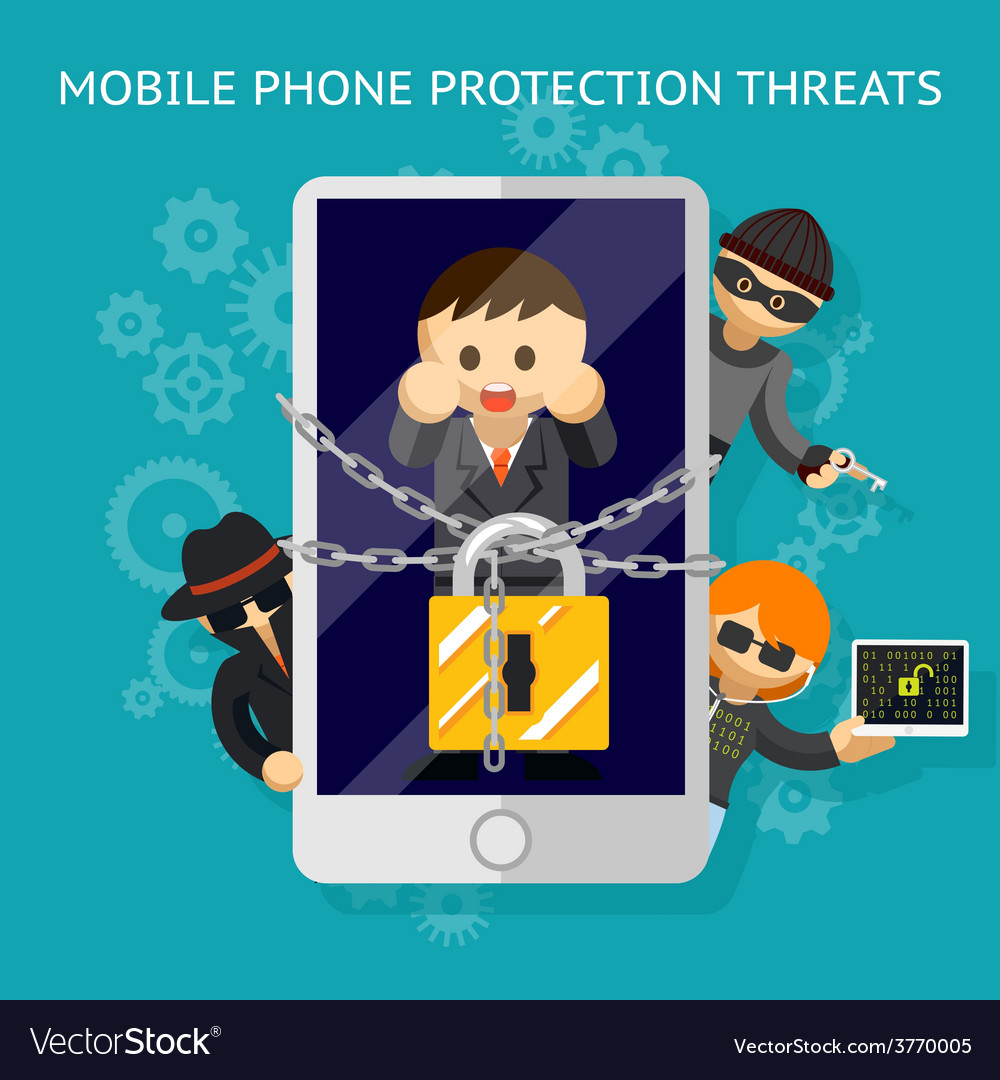 Mobile phone protection threats Security against