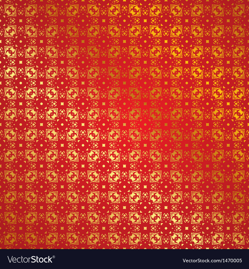 Seamless red background vector image