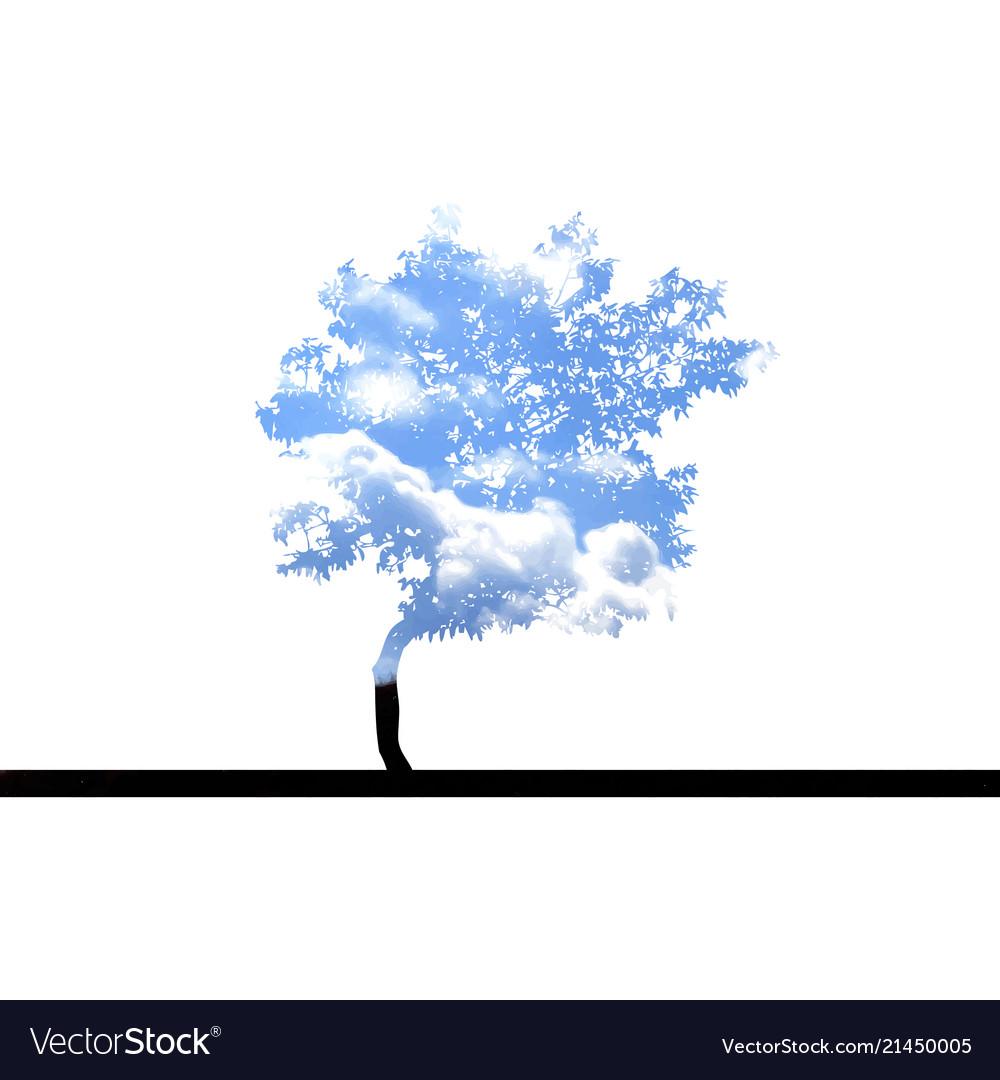 Tree with sky