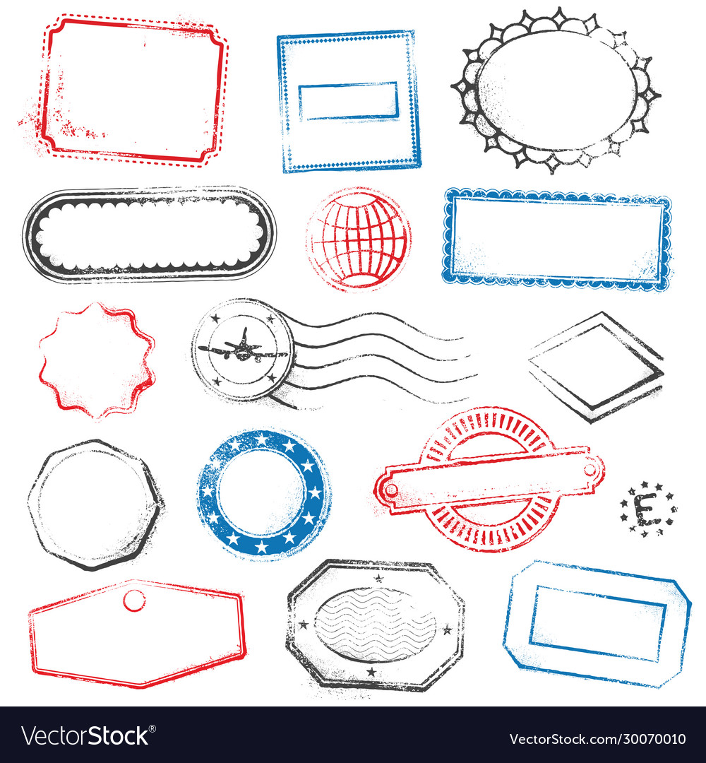 High detail generic stamps