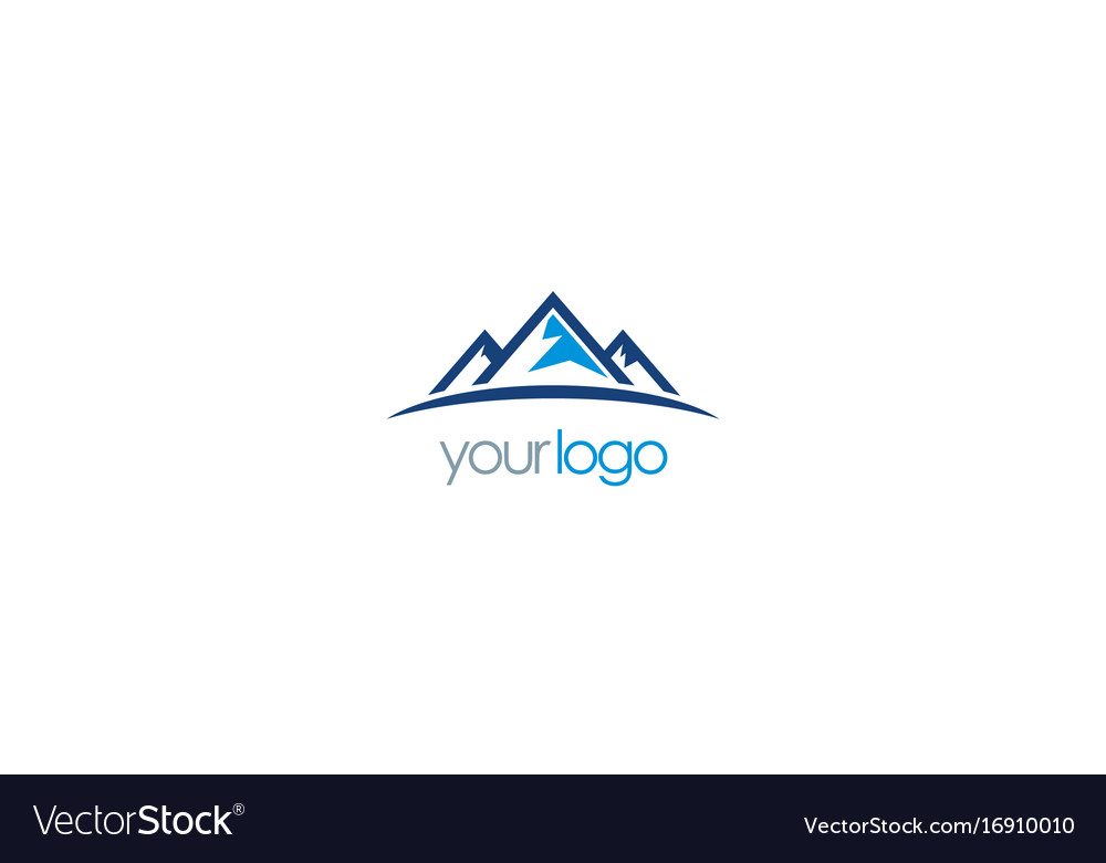 Mountain triangle logo