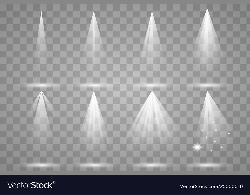 Scene illumination collection transparent