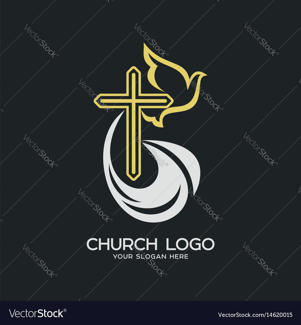 Church logo and christian symbols