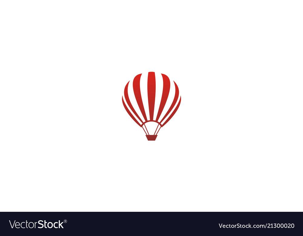 Baloon air flying logo