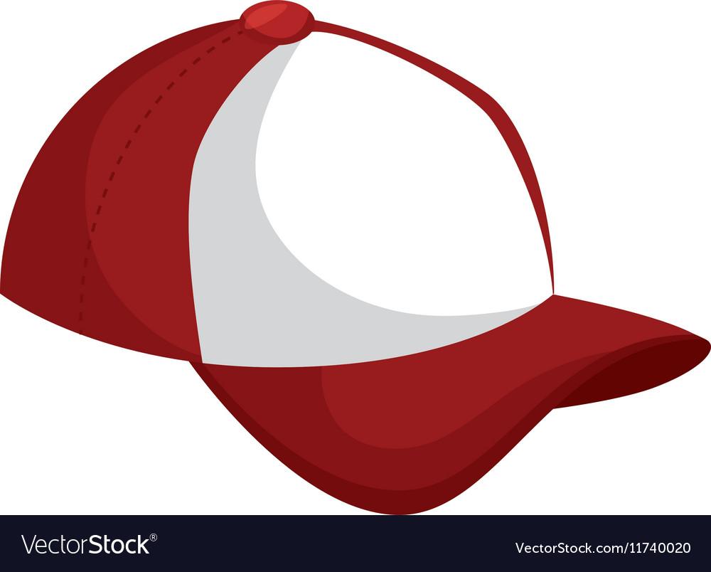 Baseball cap icon design