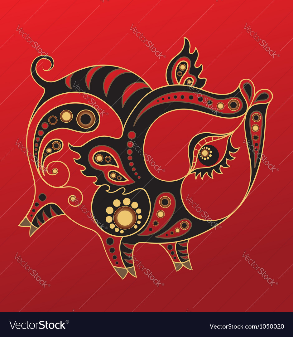 Chinese horoscope year pig