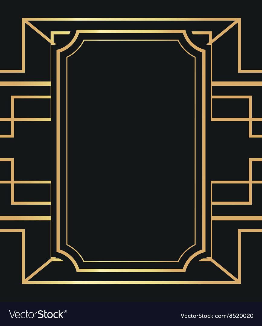 flat about gatsby background design royalty free vector. Black Bedroom Furniture Sets. Home Design Ideas