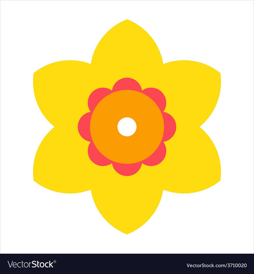 Narcissus - flower icon