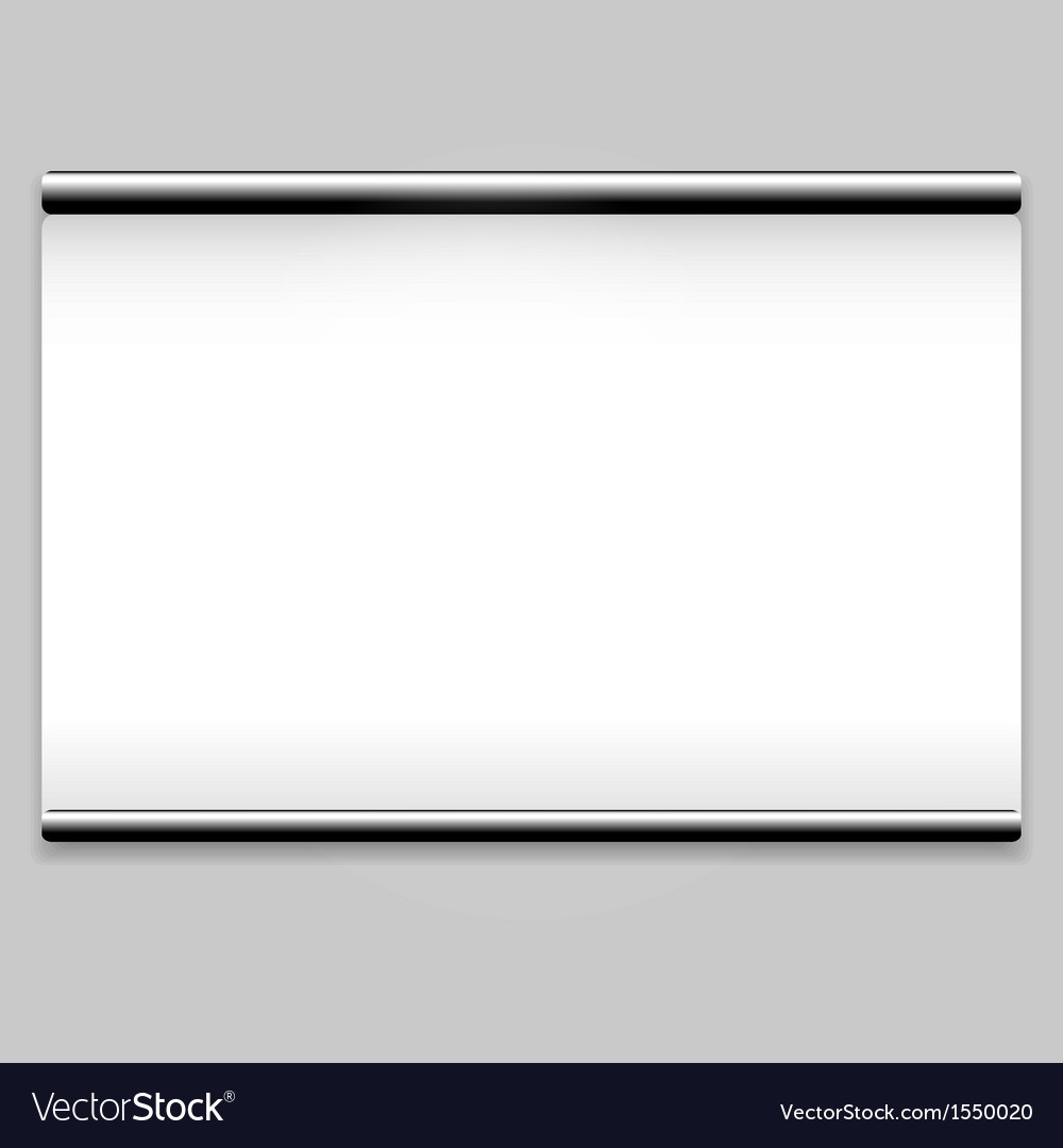Projector screen sign