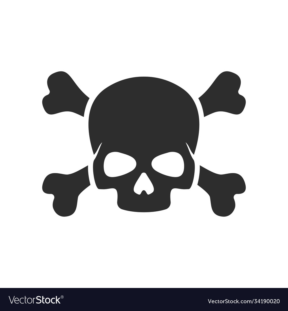 Skull and crossbone icon images