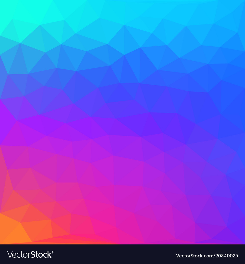 Abstract polygonal background blurry triangle