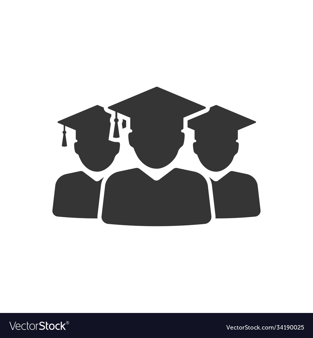 Graduation group icon images