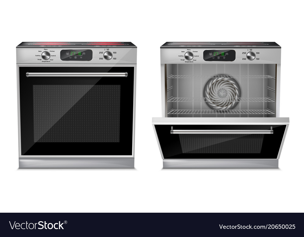 Induction Cooktop Royalty Free Vector