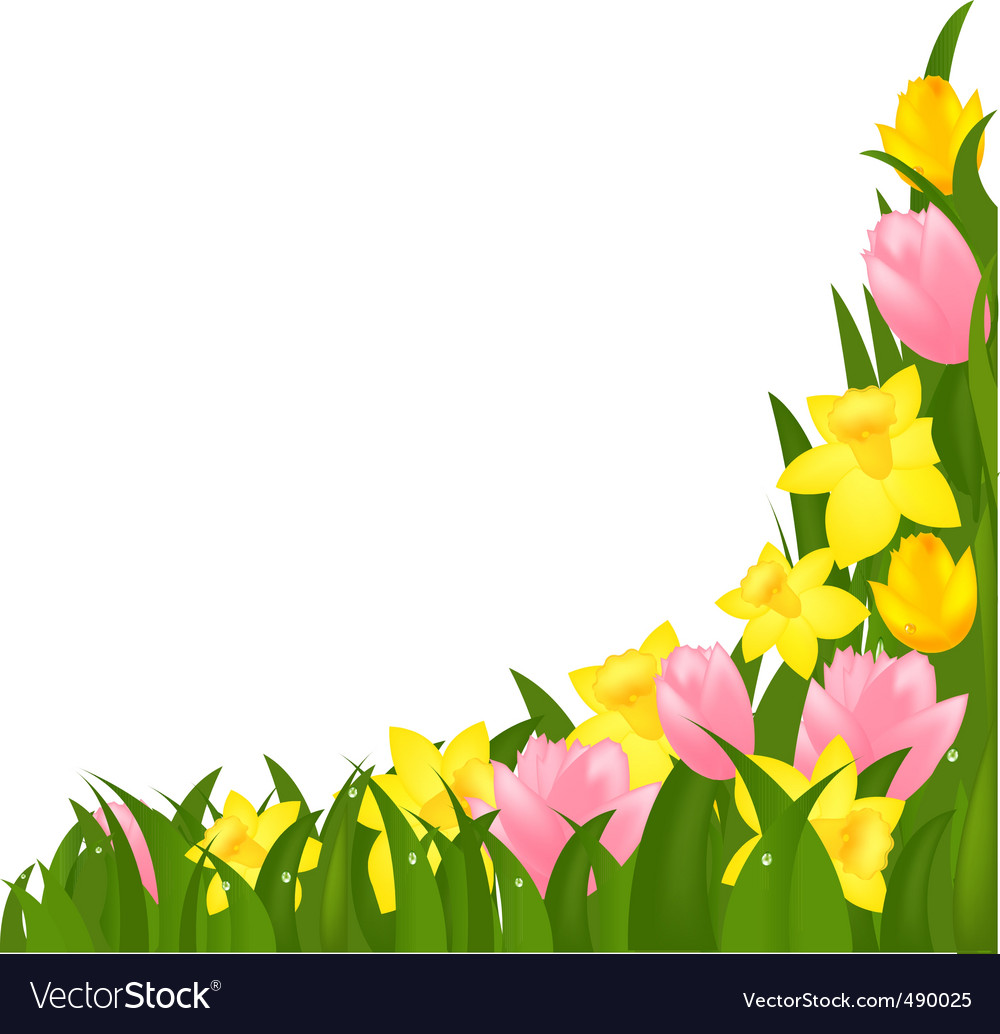 Spring flowers royalty free vector image vectorstock spring flowers vector image mightylinksfo Gallery