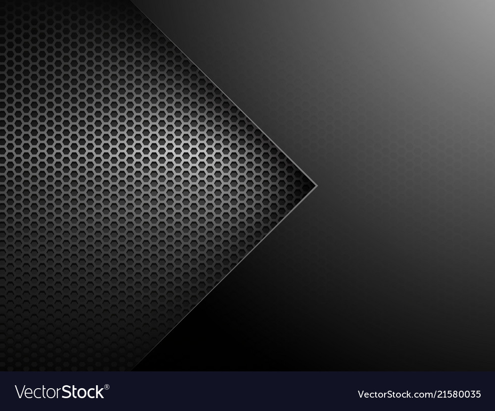 Abstract metalic geometric background with arrow