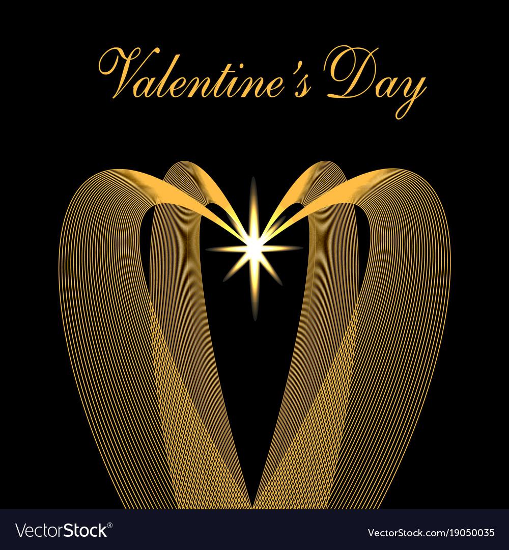 Valentine s day congratulatory inscription
