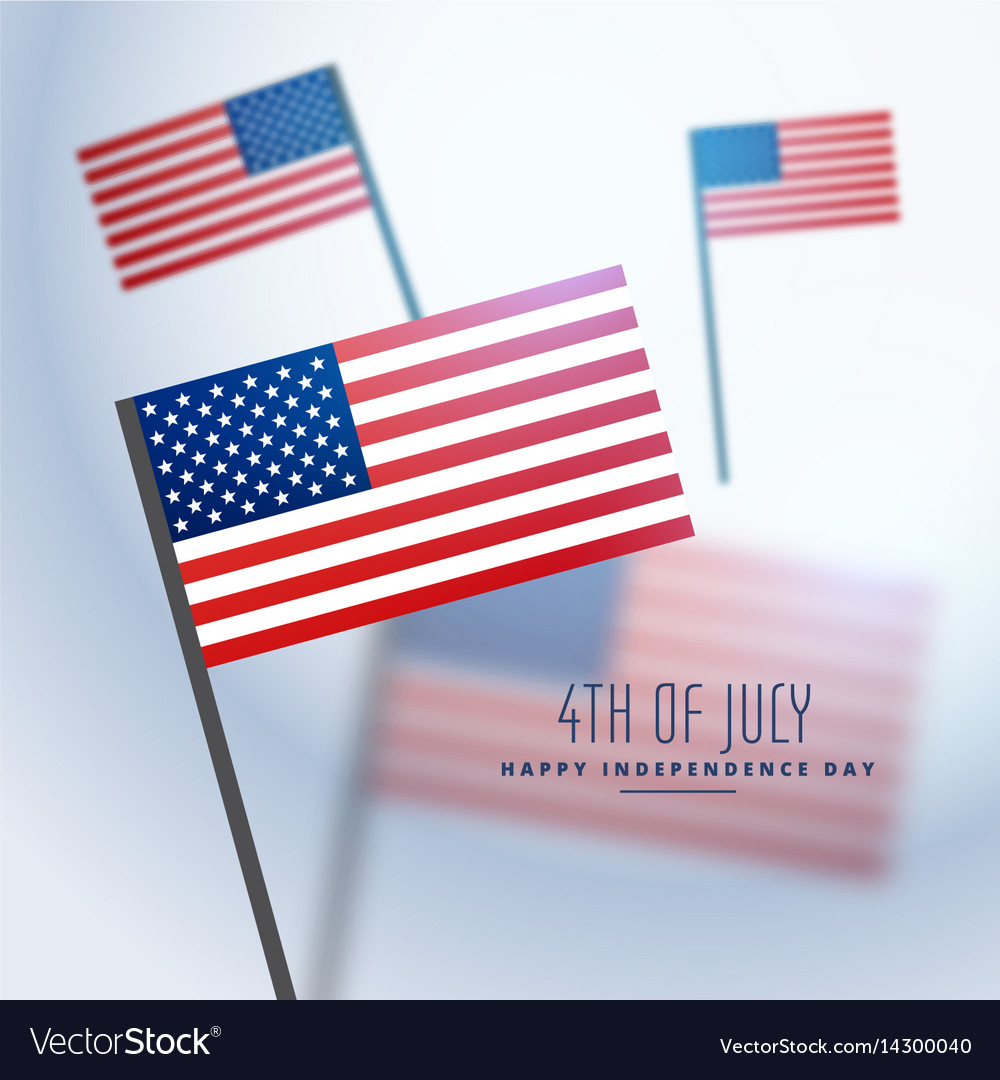 American flags background