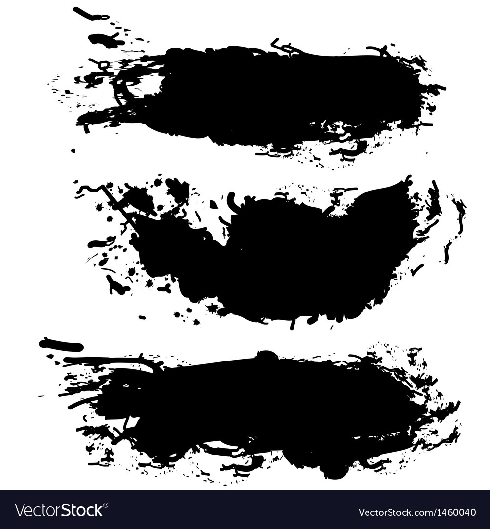 collection of paint splash royalty free vector image rh vectorstock com paint splash vector art paint splash vector free