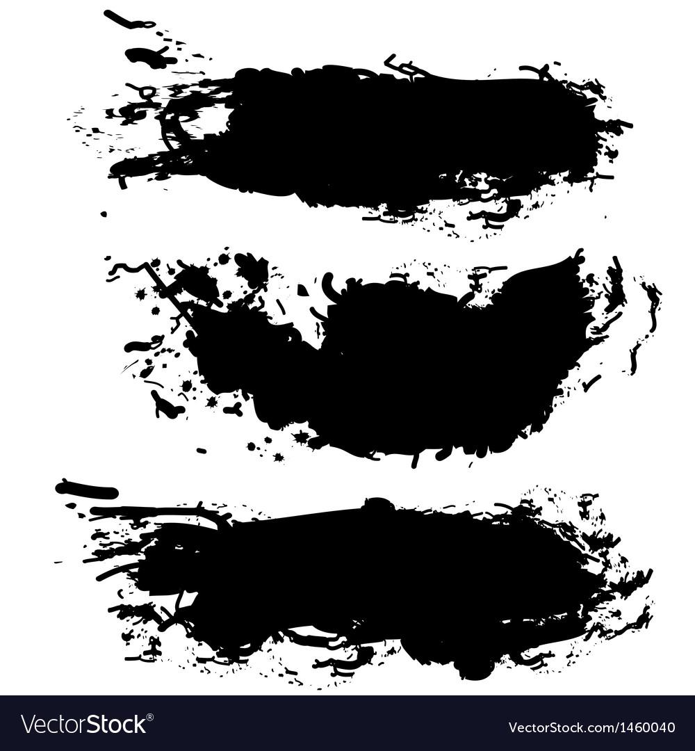 collection of paint splash royalty free vector image rh vectorstock com splash vector psd splash vector.rar