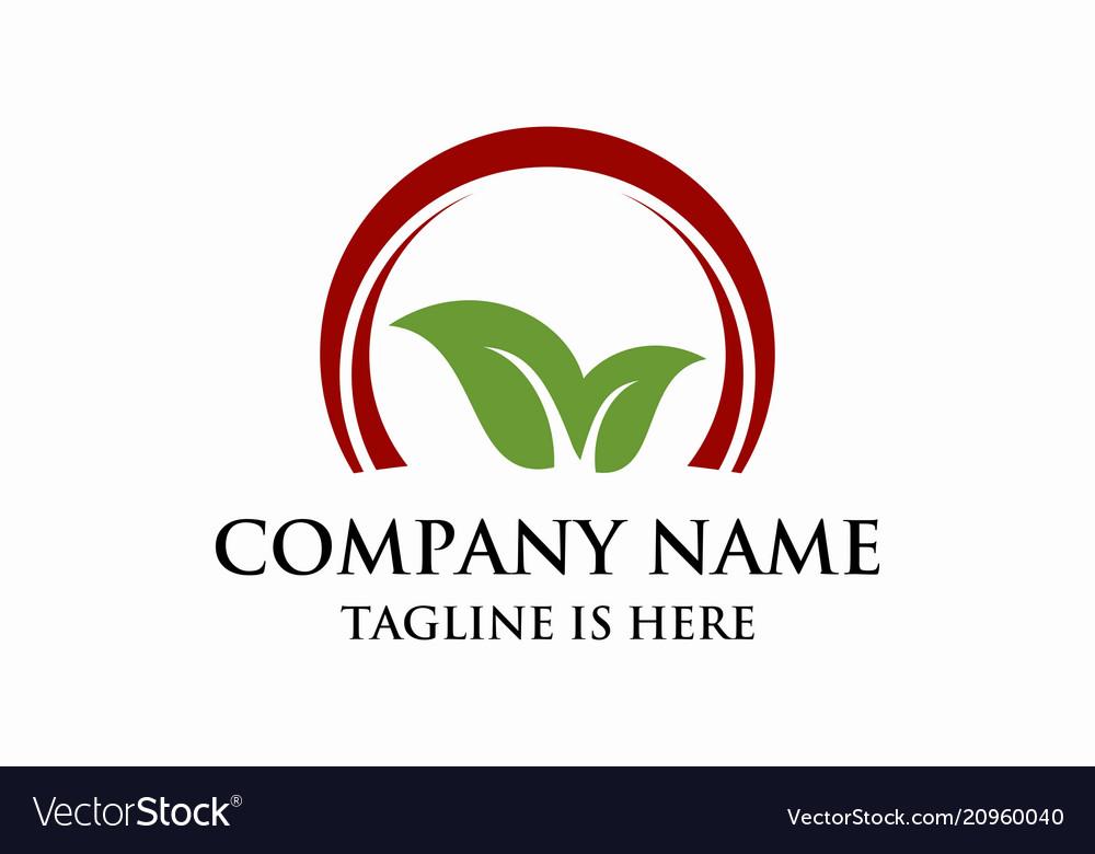 Leaf business logo