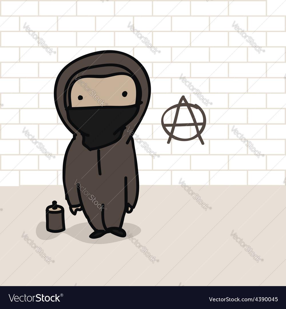 Cartoon anarchist