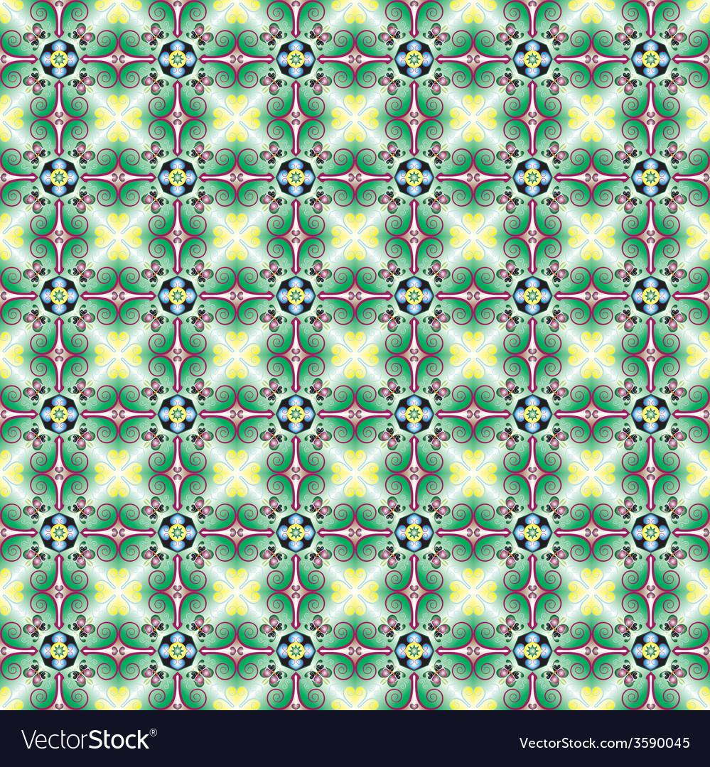 Islamic motives vector image