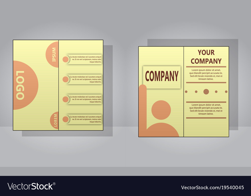 Sets of modern light business card template for vector image reheart Gallery
