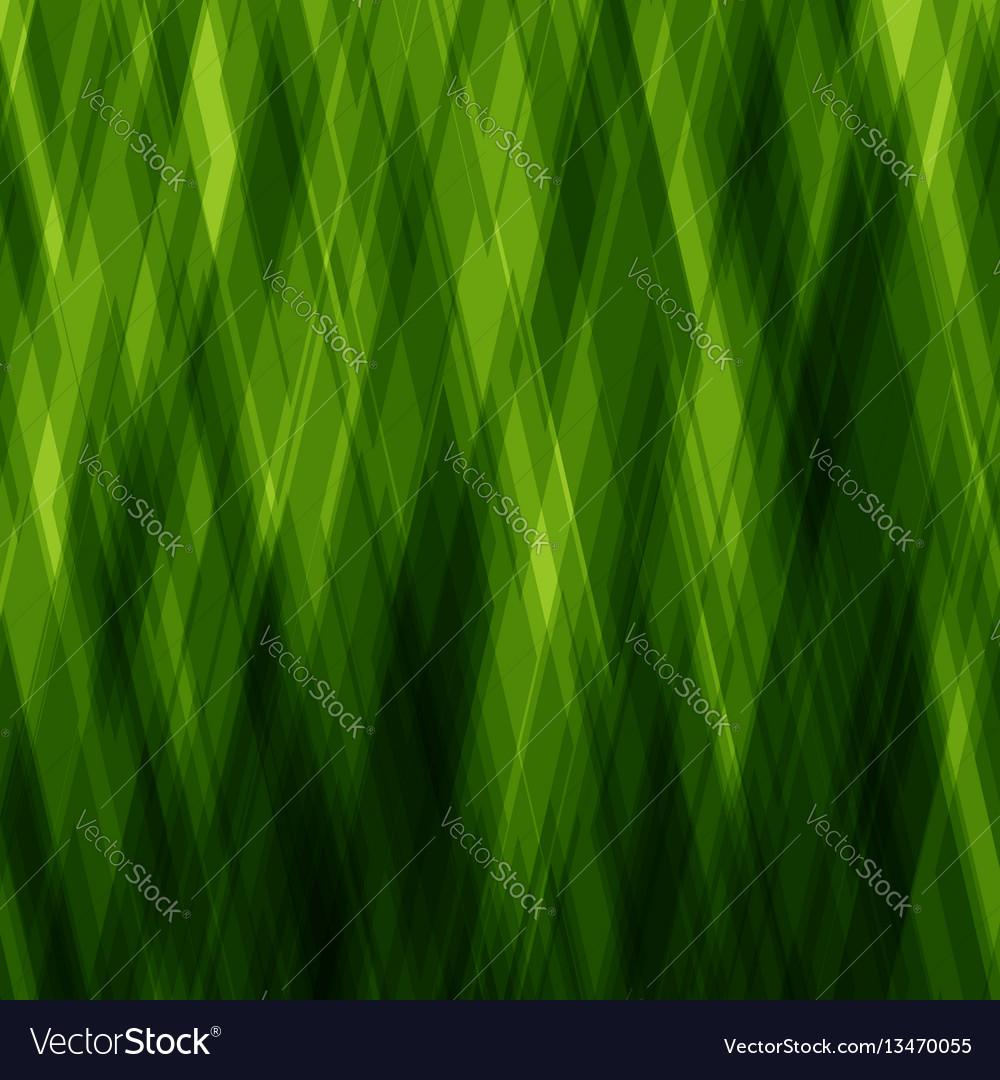 Abstract diagonal background green mosaic pattern