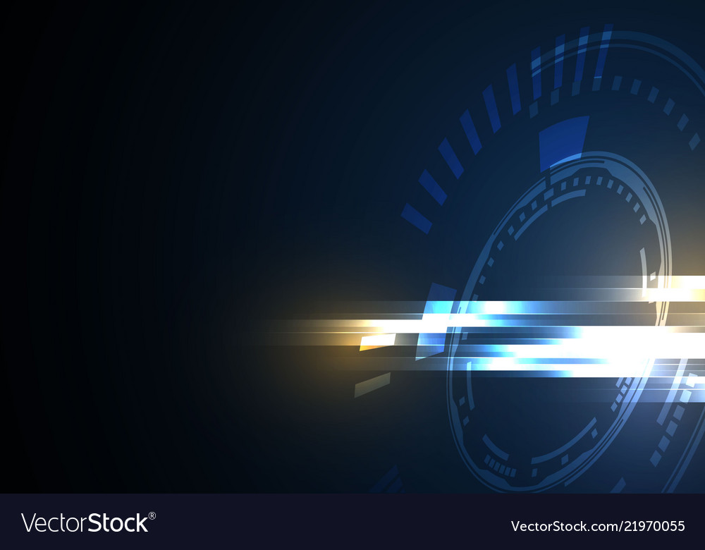 Background technology blue tech background with