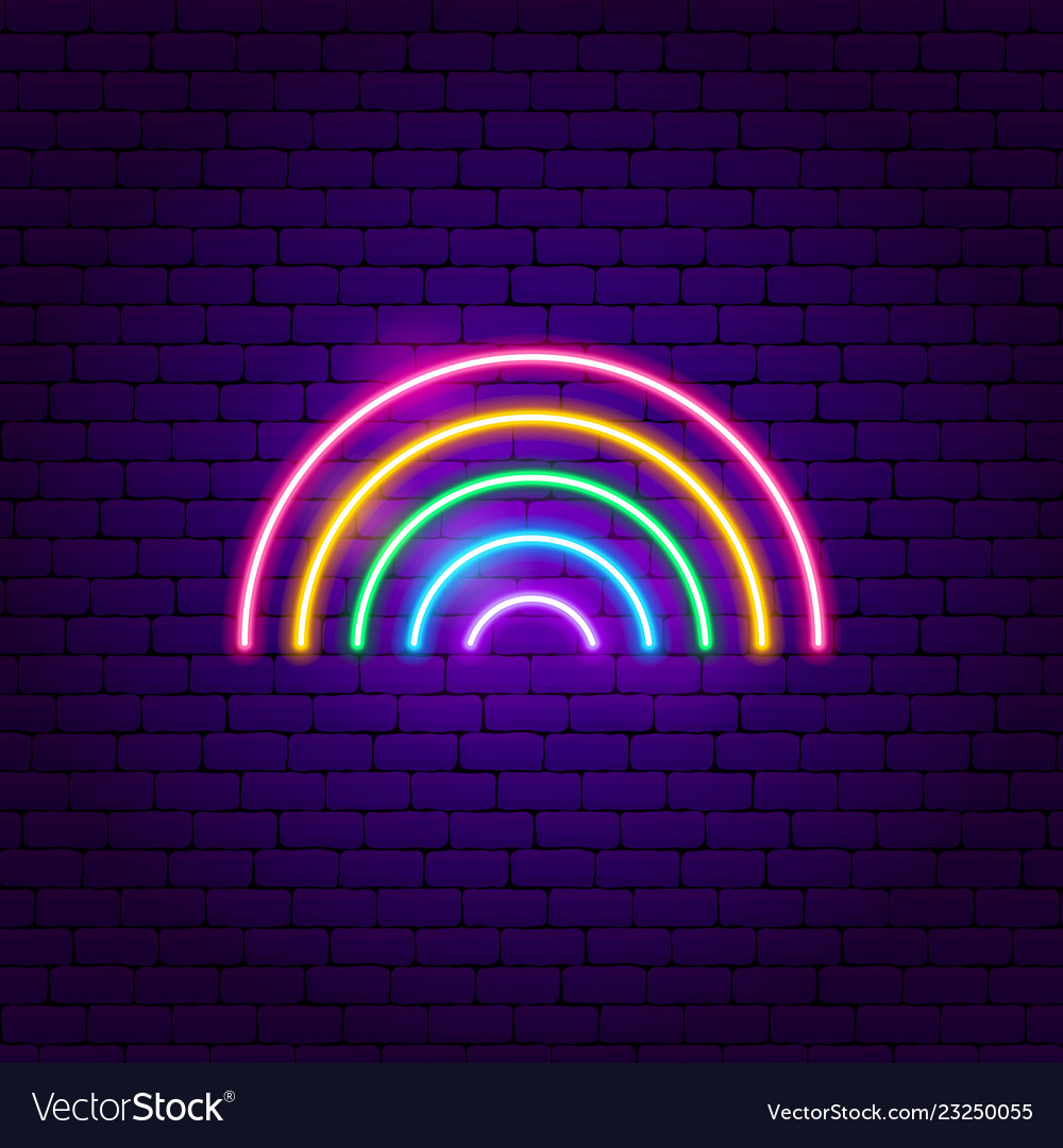 Rainbow Neon Light