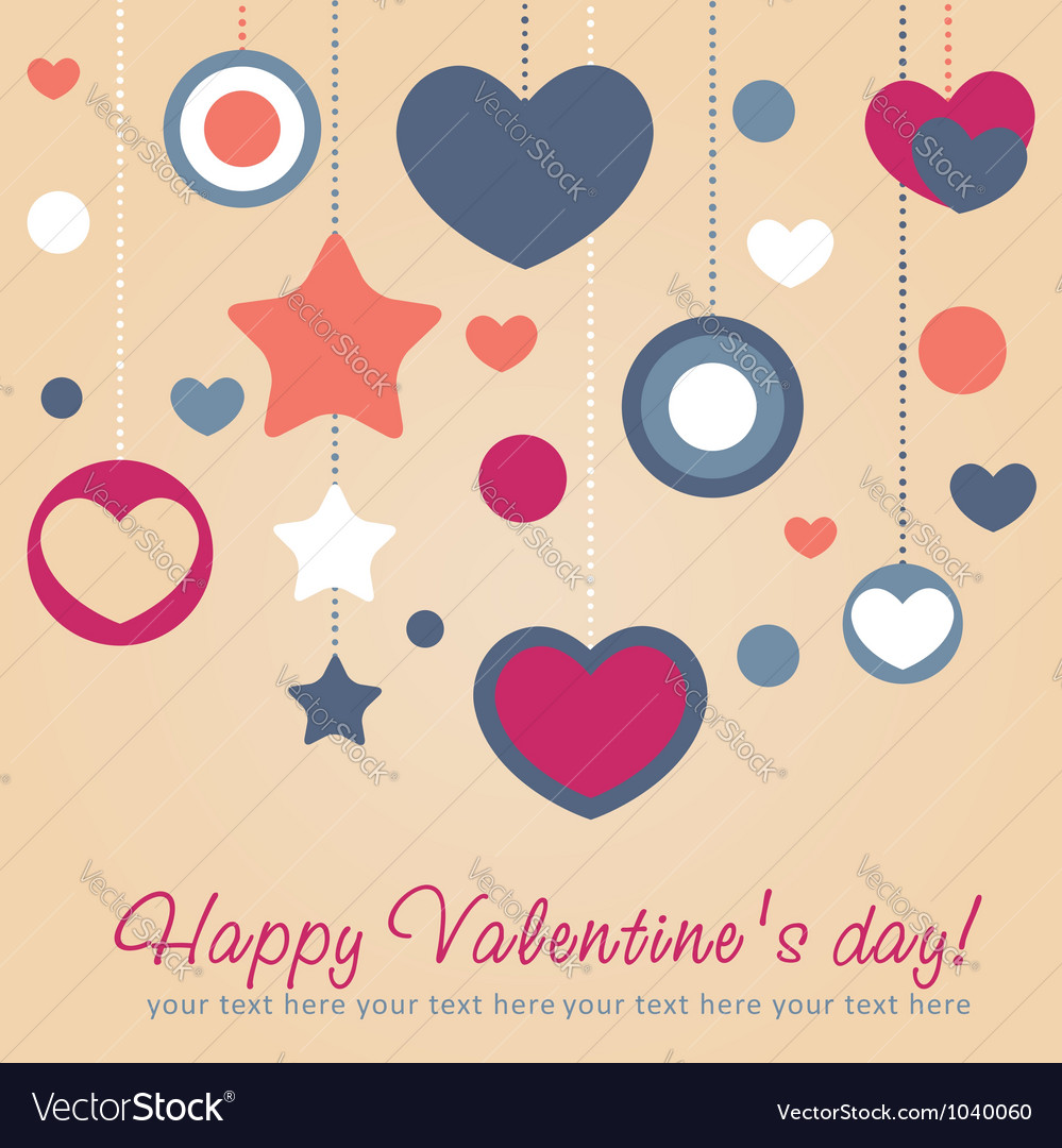 Cute Valentine love congratulation card
