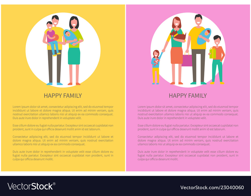 Happy family people parents and children with pet