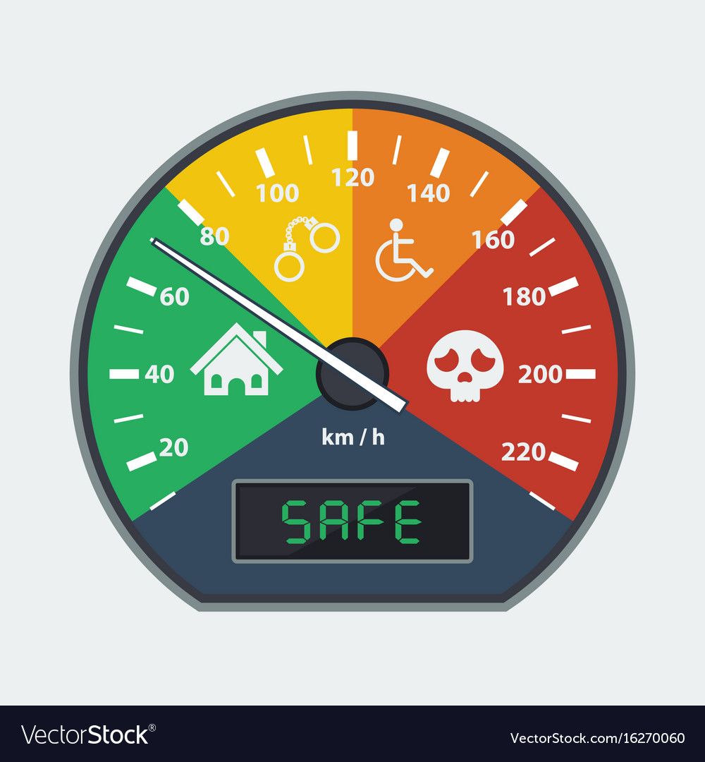 The faster you drive the harder you hit safe