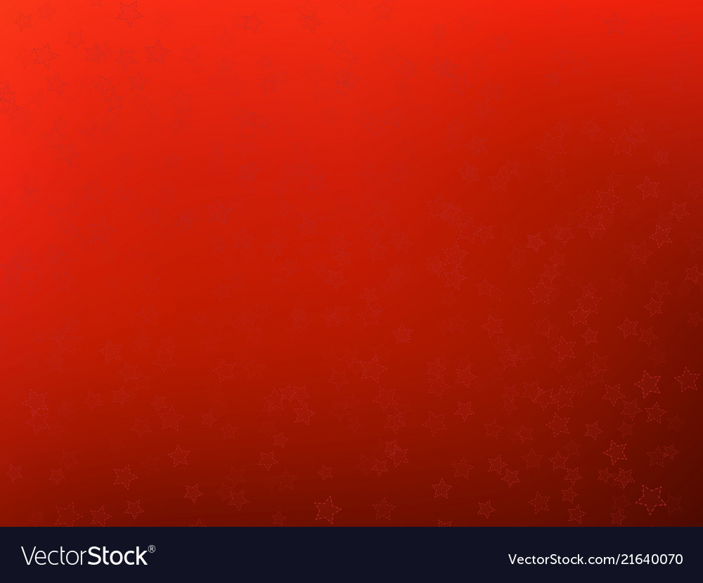 Abstract christmas red background with stars