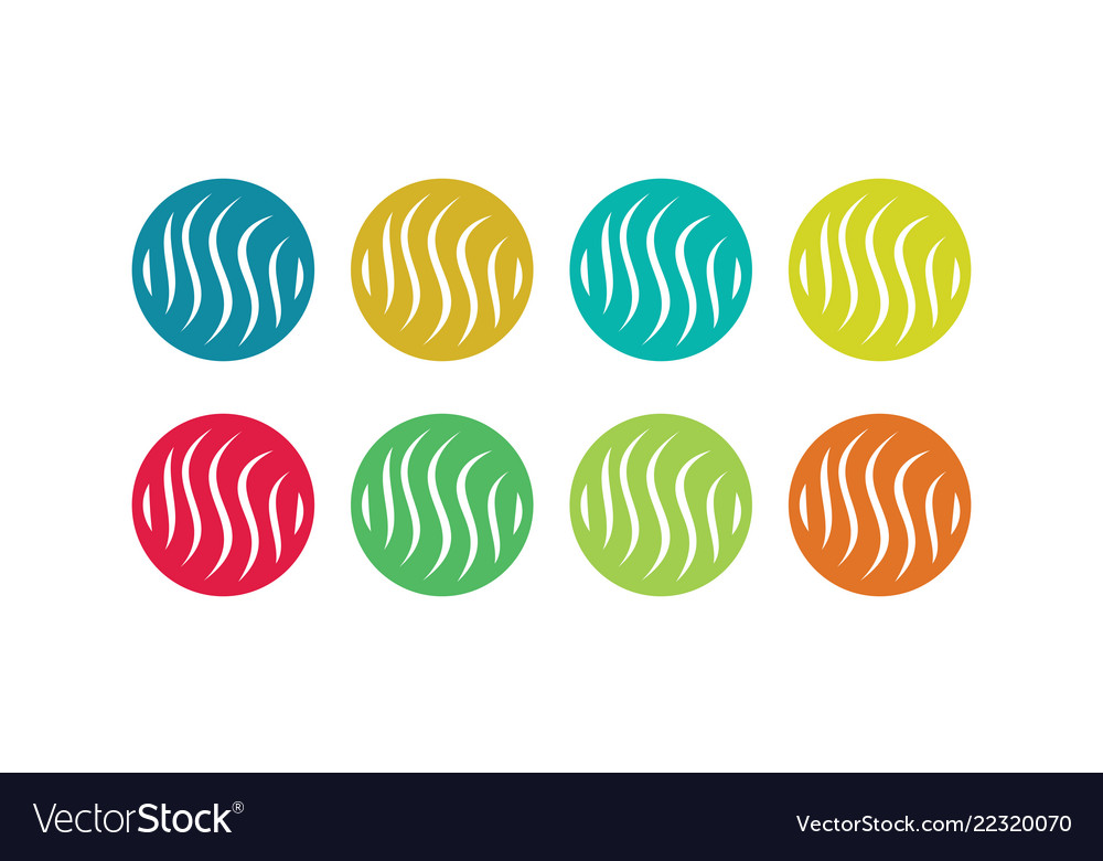 Circle letter s colored logo