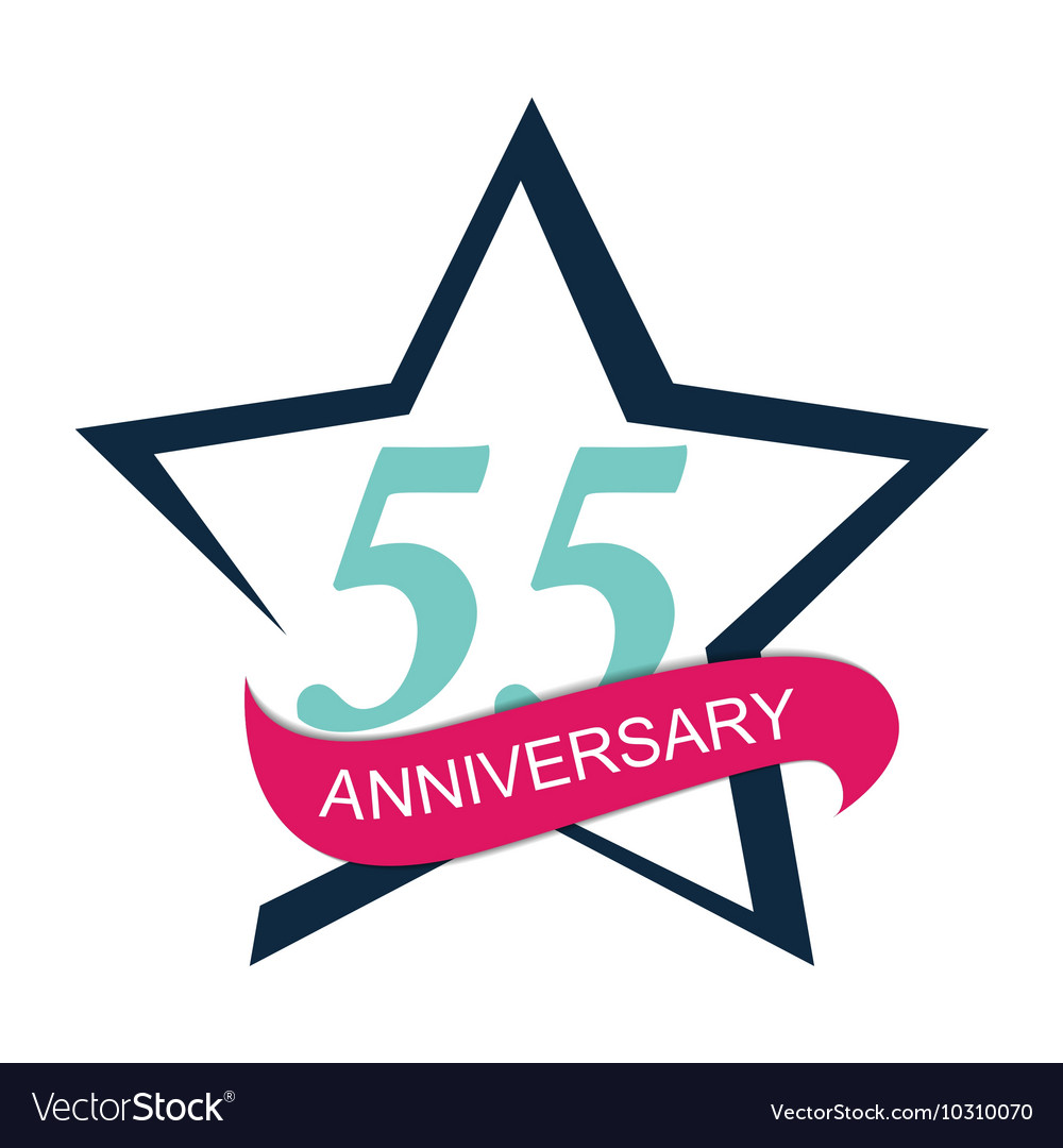 Template Logo 55 Anniversary
