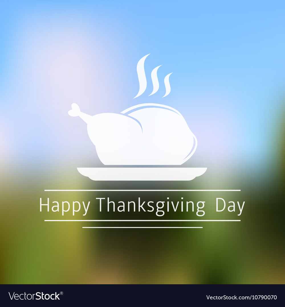 Thanksgiving day abstract blurred background