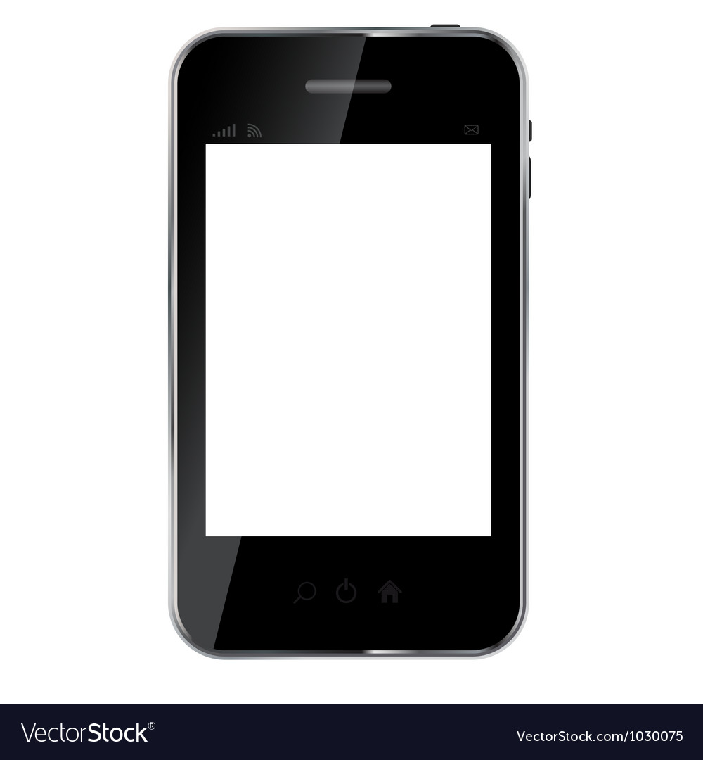Abstract design mobile phone