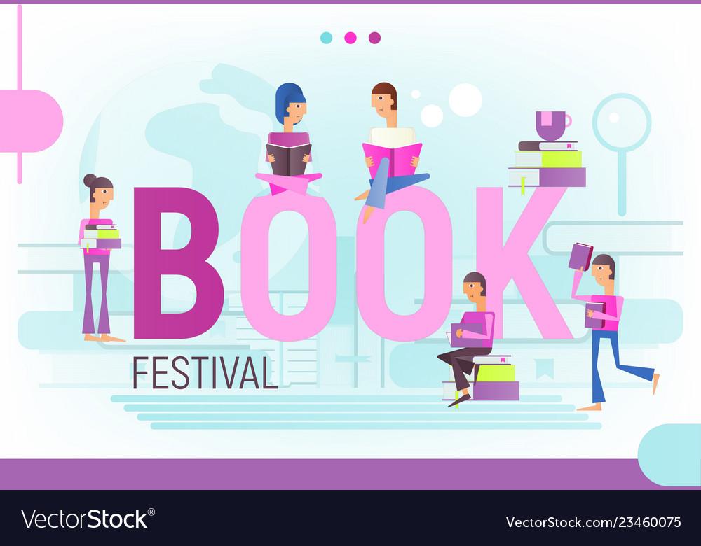 Concept for book festival
