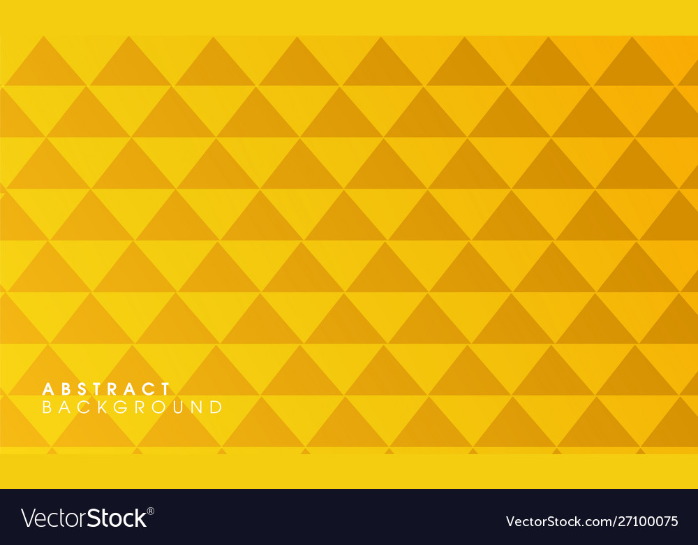 Yellow abstract geometrical background