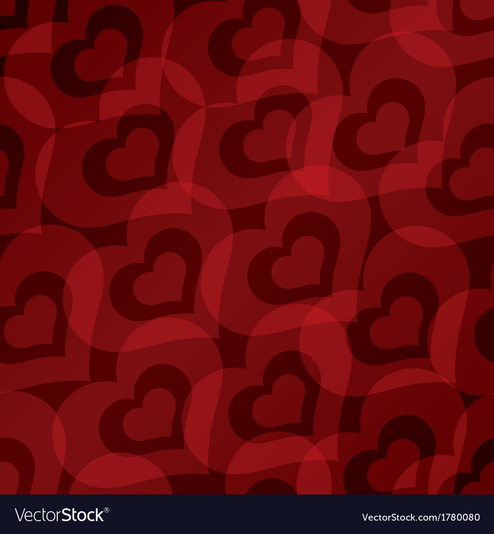 Background with hearts seamless pattern