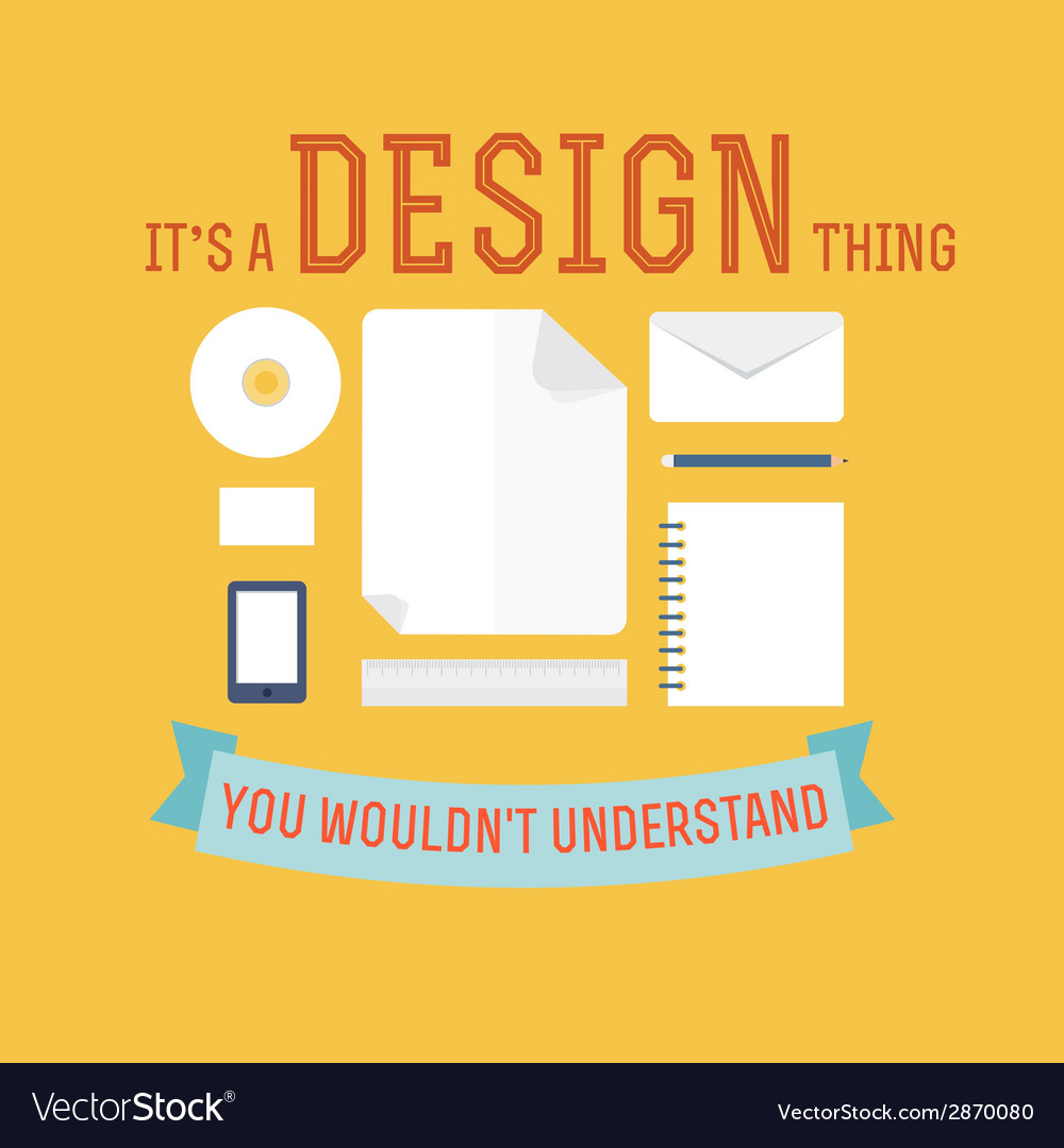 Element of design concept icon in flat design vector image