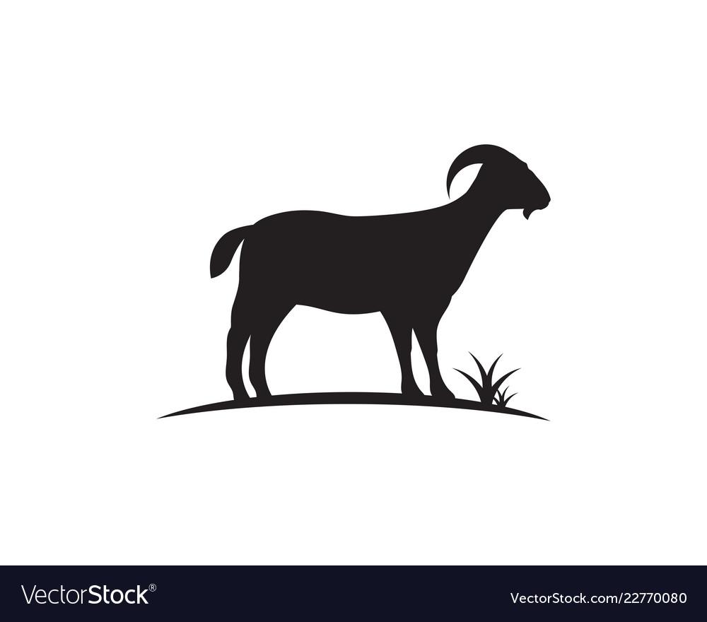 Goat logo template icon