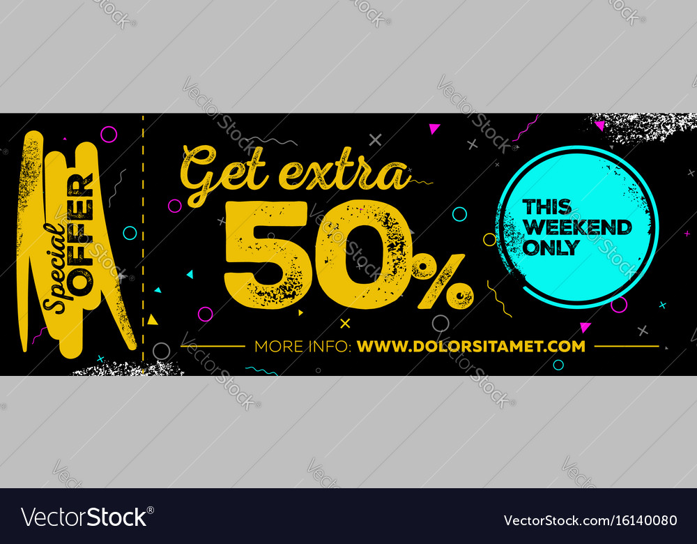 Sale poster design
