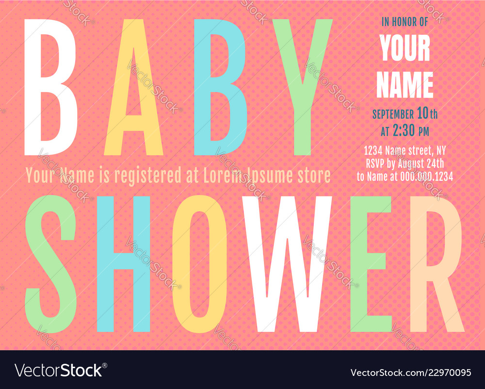 Bashower invitation